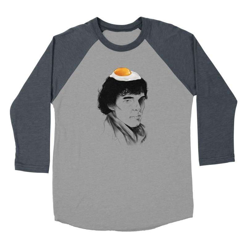 Eggs Benedict (Cumberbatch) Women's Baseball Triblend Longsleeve T-Shirt by zonnie's Shop