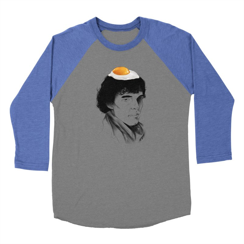 Eggs Benedict (Cumberbatch) Men's Baseball Triblend Longsleeve T-Shirt by zonnie's Shop