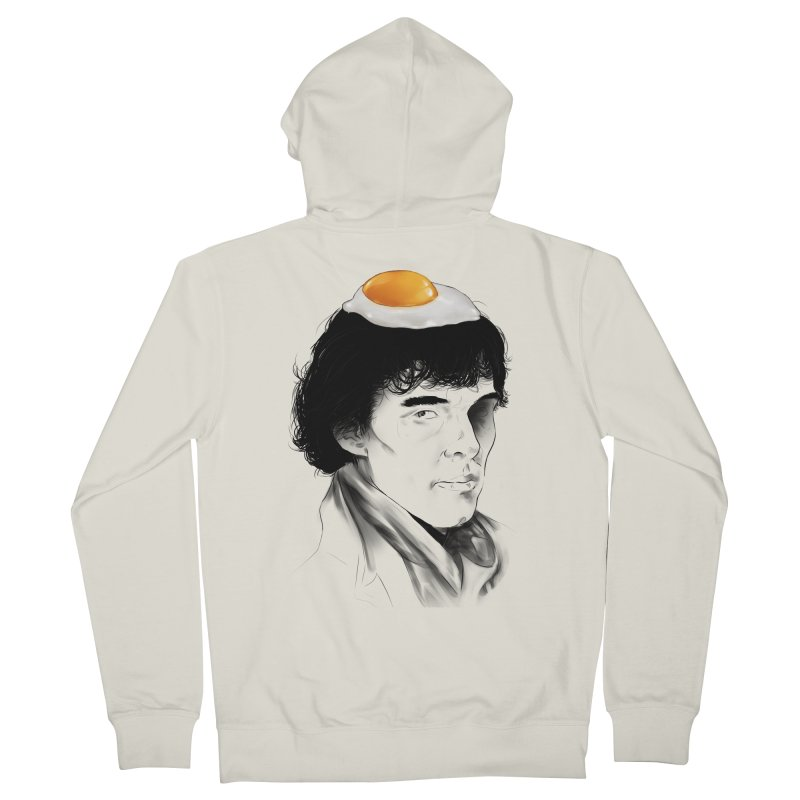 Eggs Benedict (Cumberbatch) Men's French Terry Zip-Up Hoody by zonnie's Shop