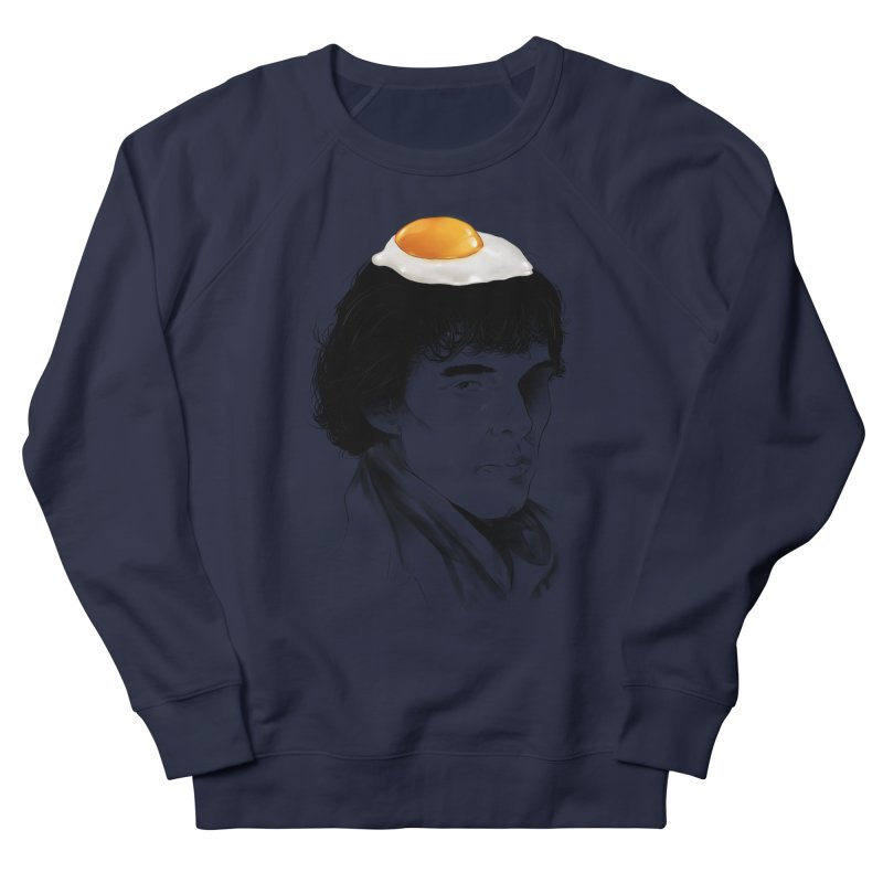 Eggs Benedict (Cumberbatch) Men's French Terry Sweatshirt by zonnie's Shop