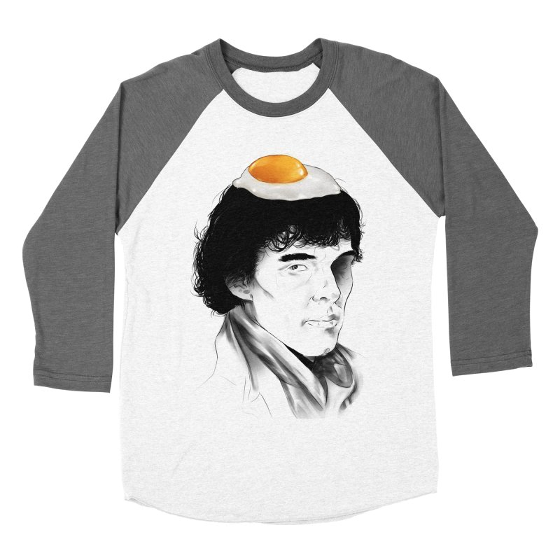 Eggs Benedict (Cumberbatch) Women's Baseball Triblend T-Shirt by zonnie's Shop