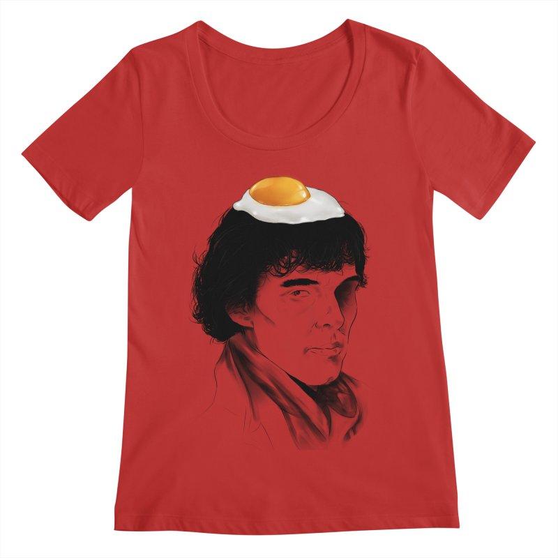 Eggs Benedict (Cumberbatch) Women's Scoop Neck by zonnie's Shop