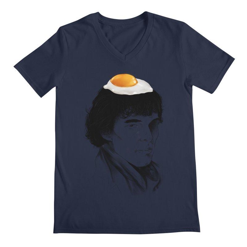 Eggs Benedict (Cumberbatch) Men's V-Neck by zonnie's Shop