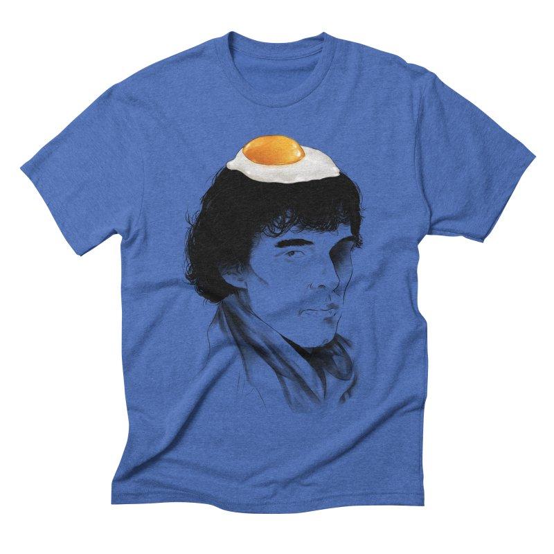 Eggs Benedict (Cumberbatch) Men's Triblend T-shirt by zonnie's Shop
