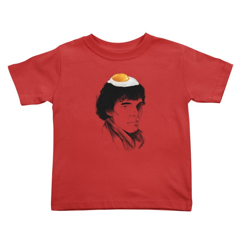 Eggs Benedict (Cumberbatch) Kids Toddler T-Shirt by zonnie's Shop
