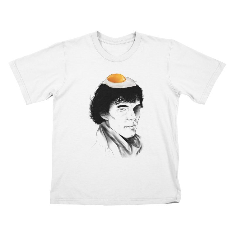 Eggs Benedict (Cumberbatch) Kids T-shirt by zonnie's Shop