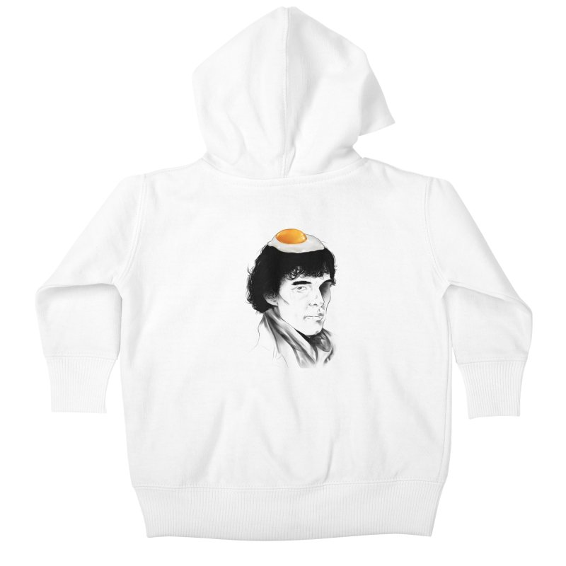 Eggs Benedict (Cumberbatch) Kids Baby Zip-Up Hoody by zonnie's Shop