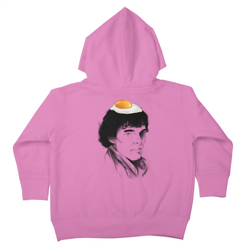 Eggs Benedict (Cumberbatch) Kids Toddler Zip-Up Hoody by zonnie's Shop