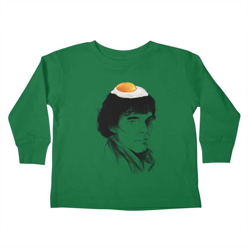 Eggs Benedict (Cumberbatch) Kids Toddler Longsleeve T-Shirt by zonnie's Shop