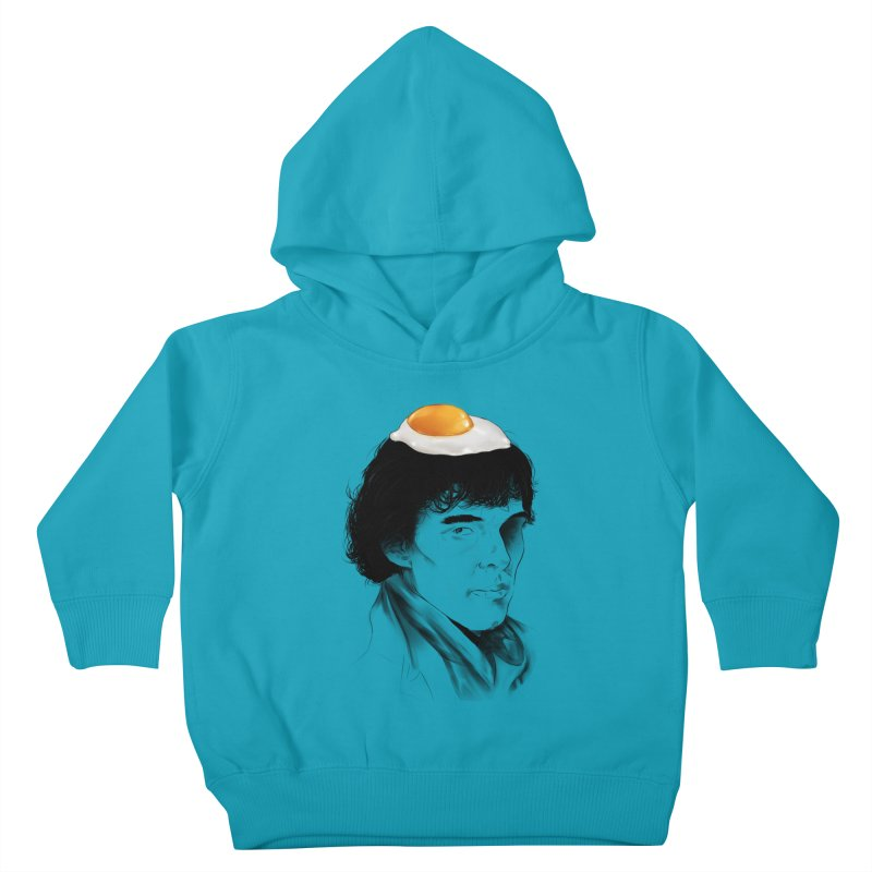 Eggs Benedict (Cumberbatch) Kids Toddler Pullover Hoody by zonnie's Shop