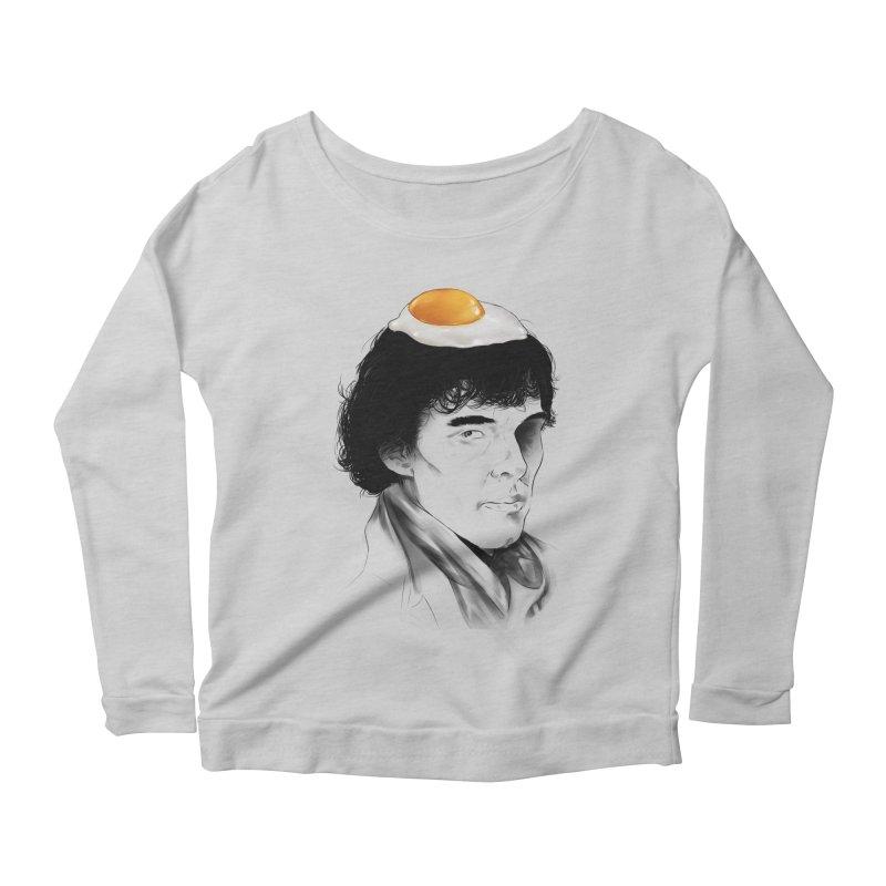 Eggs Benedict (Cumberbatch) Women's Scoop Neck Longsleeve T-Shirt by zonnie's Shop