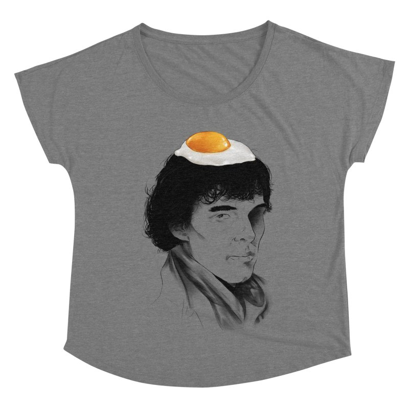 Eggs Benedict (Cumberbatch) Women's Scoop Neck by zonnie's Shop
