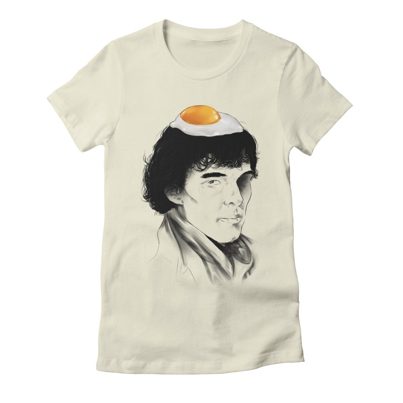 Eggs Benedict (Cumberbatch) Women's Fitted T-Shirt by zonnie's Shop