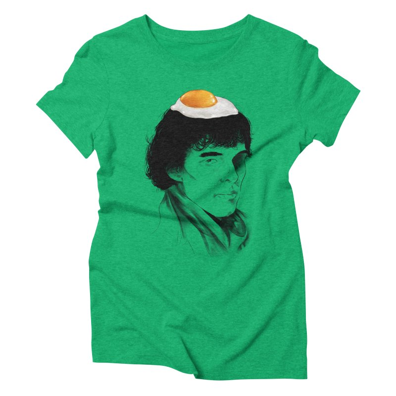 Eggs Benedict (Cumberbatch) Women's Triblend T-shirt by zonnie's Shop