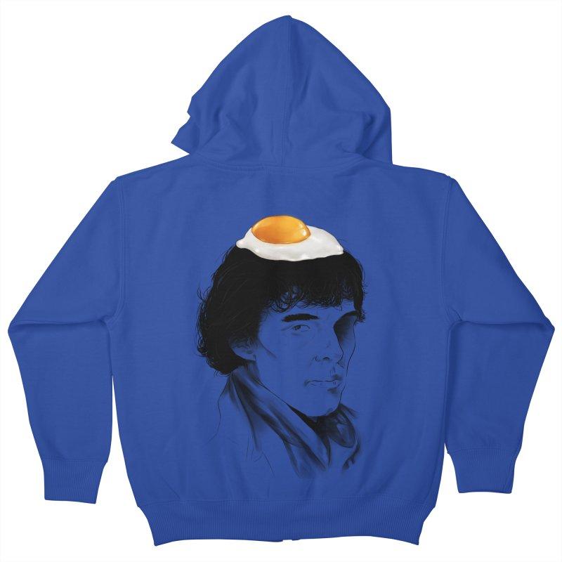 Eggs Benedict (Cumberbatch) Kids Zip-Up Hoody by zonnie's Shop