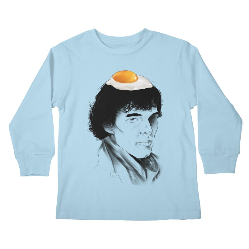Eggs Benedict (Cumberbatch) Kids Longsleeve T-Shirt by zonnie's Shop