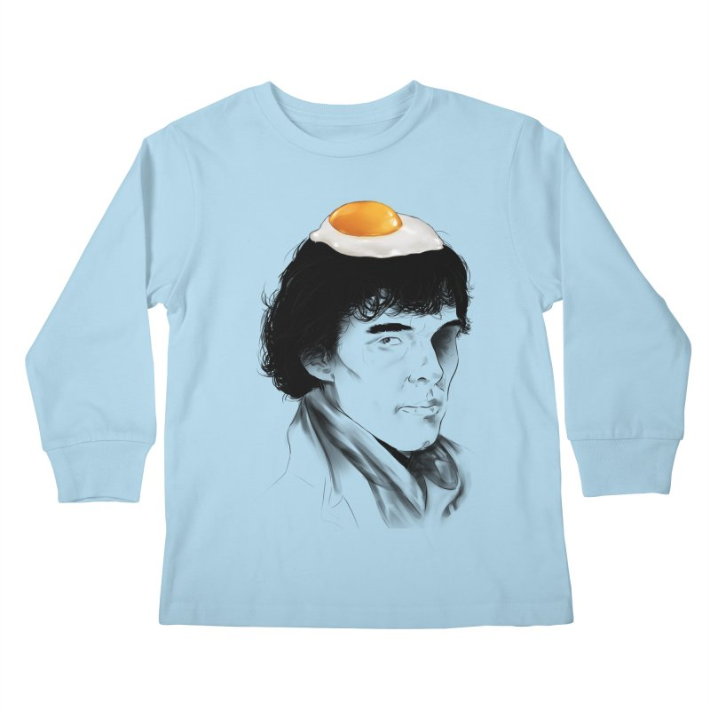 Eggs Benedict (Cumberbatch) Kids Longsleeve T-Shirt by zonnie's Shop