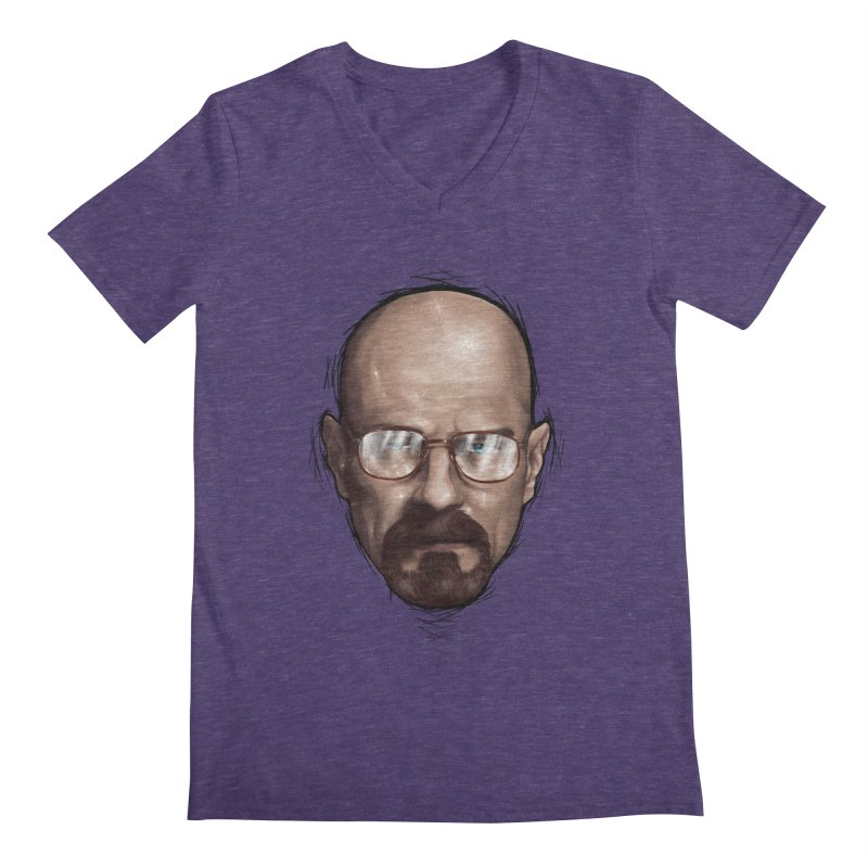 Heisenberg Men's V-Neck by zonnie's Shop
