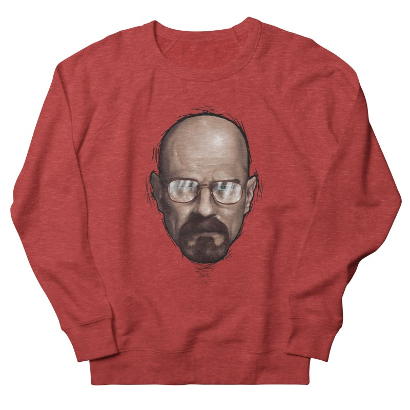 Heisenberg Men's French Terry Sweatshirt by zonnie's Shop