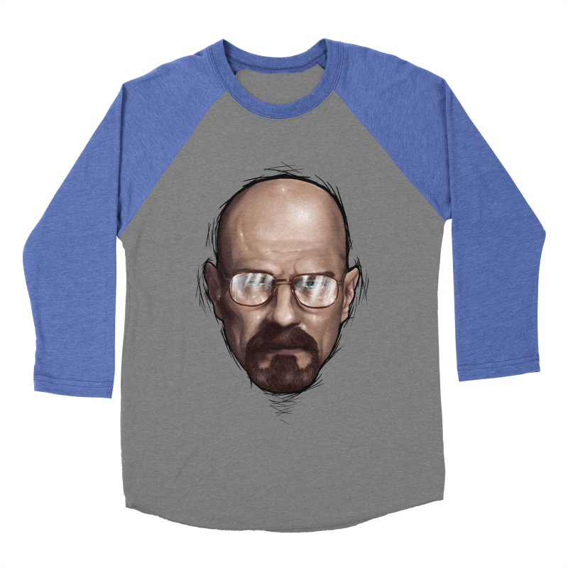 Heisenberg Women's Baseball Triblend Longsleeve T-Shirt by zonnie's Shop