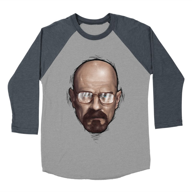 Heisenberg Men's Baseball Triblend T-Shirt by zonnie's Shop