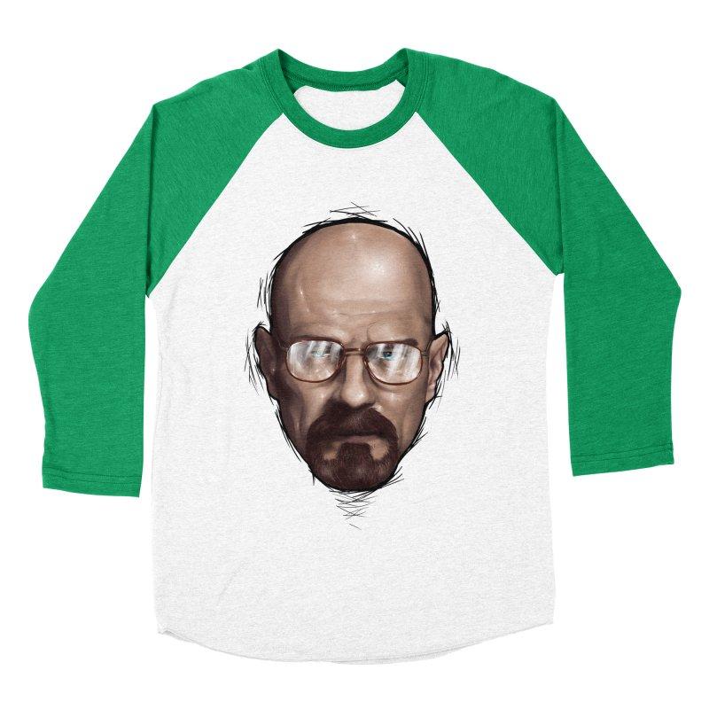 Heisenberg Men's Baseball Triblend Longsleeve T-Shirt by zonnie's Shop