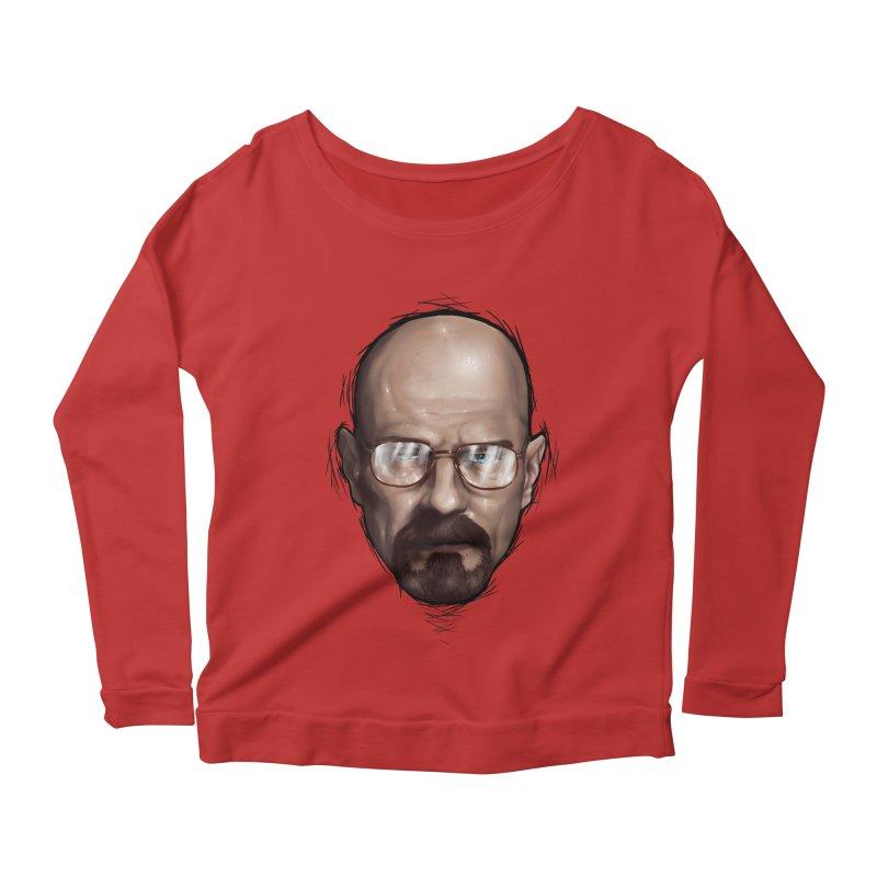 Heisenberg Women's Scoop Neck Longsleeve T-Shirt by zonnie's Shop