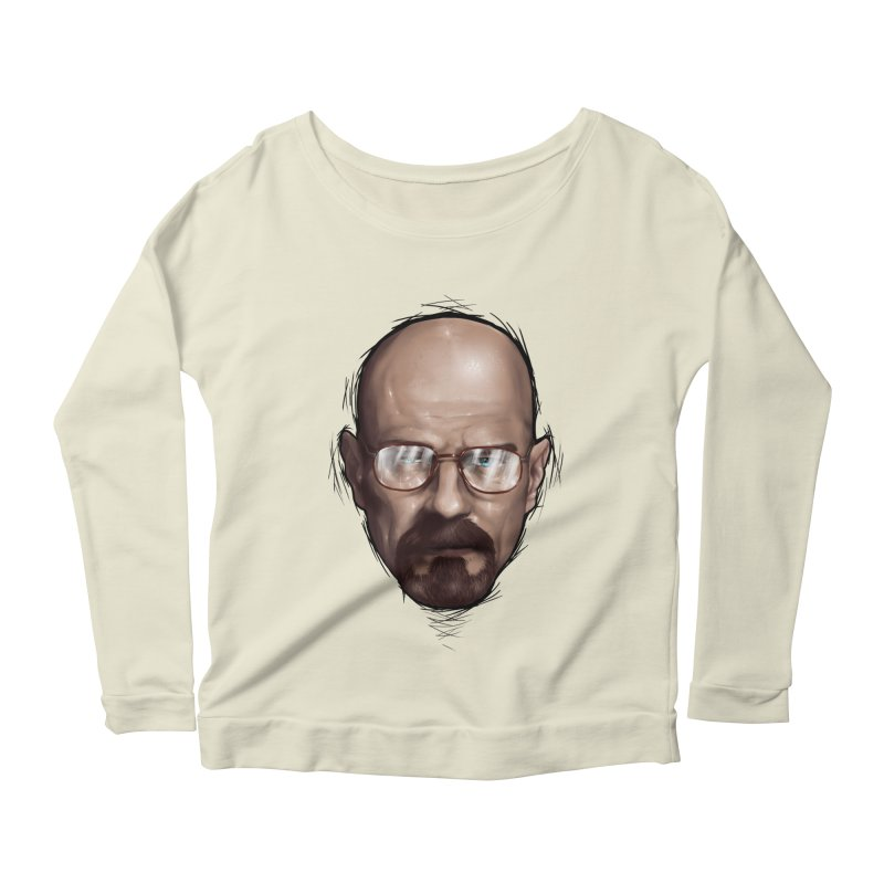 Heisenberg Women's Longsleeve Scoopneck  by zonnie's Shop