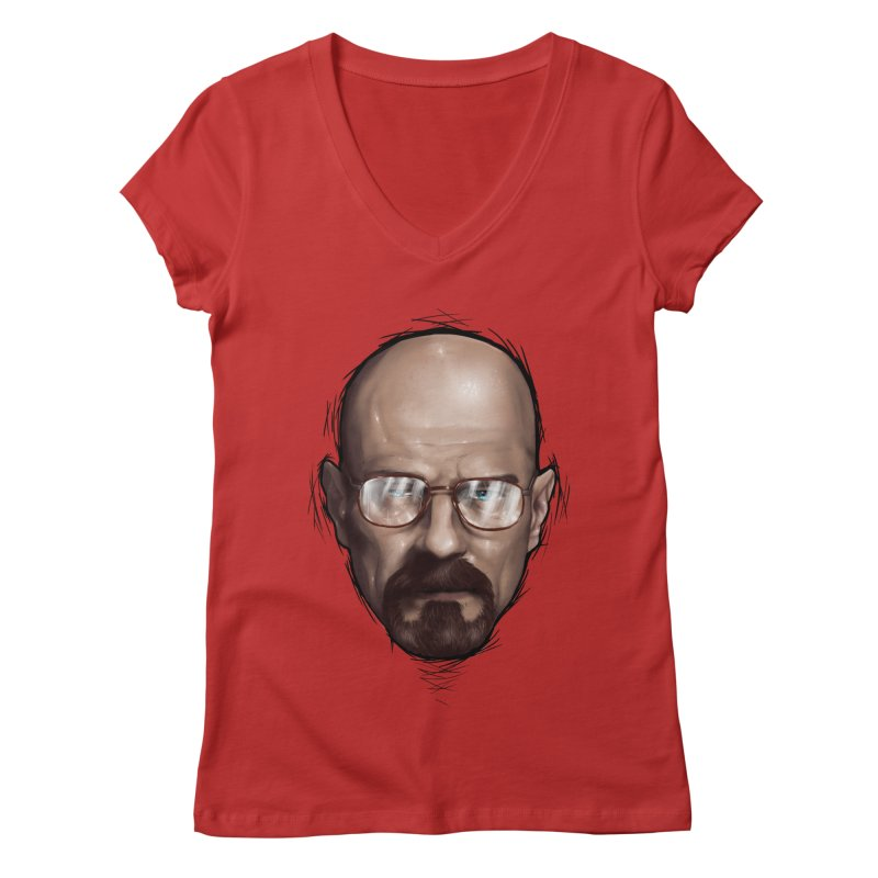 Heisenberg Women's Regular V-Neck by zonnie's Shop