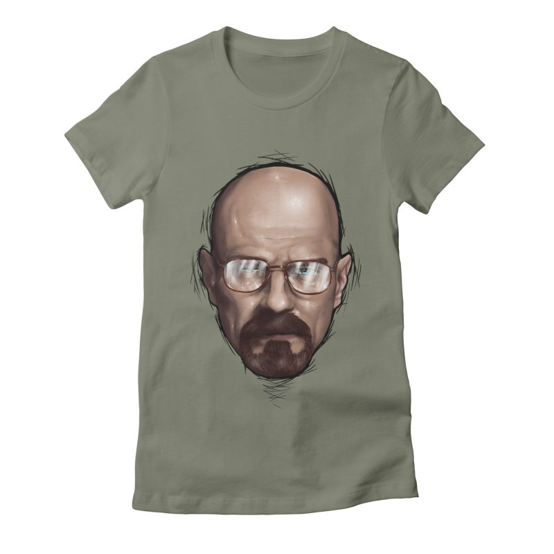Heisenberg Women's Fitted T-Shirt by zonnie's Shop