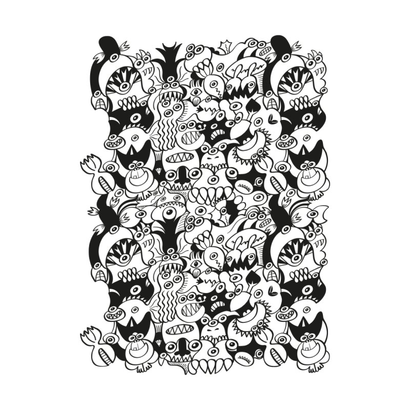 Doodles get crazy when posing for a pattern design Women's Shoes by Zoo&co's Artist Shop