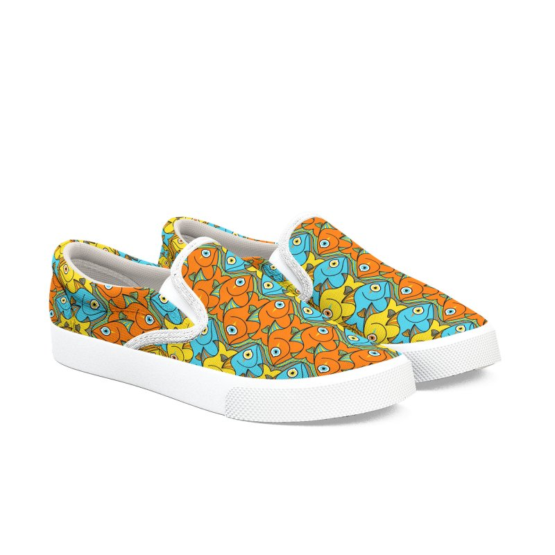 Something smells nicely fishy here Women's Shoes by Zoo&co's Artist Shop