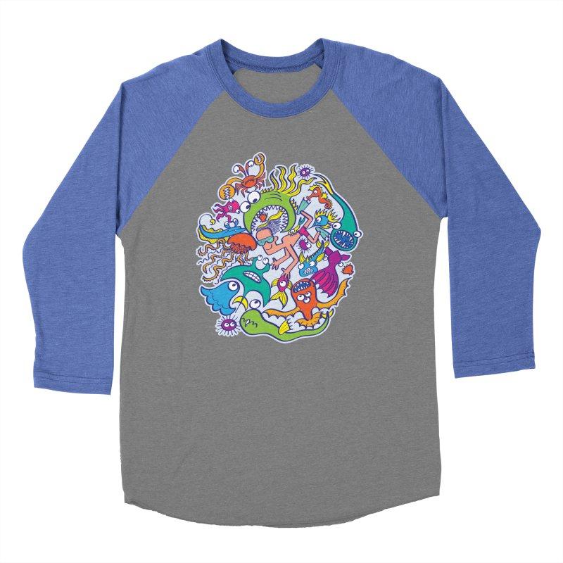 Strengthen friendship bond with dangerous sea creatures Women's Longsleeve T-Shirt by Zoo&co's Artist Shop