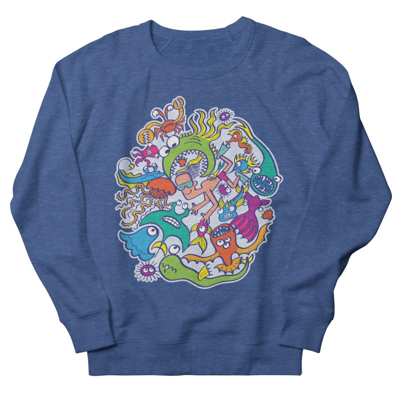 Strengthen friendship bond with dangerous sea creatures Women's Sweatshirt by Zoo&co's Artist Shop