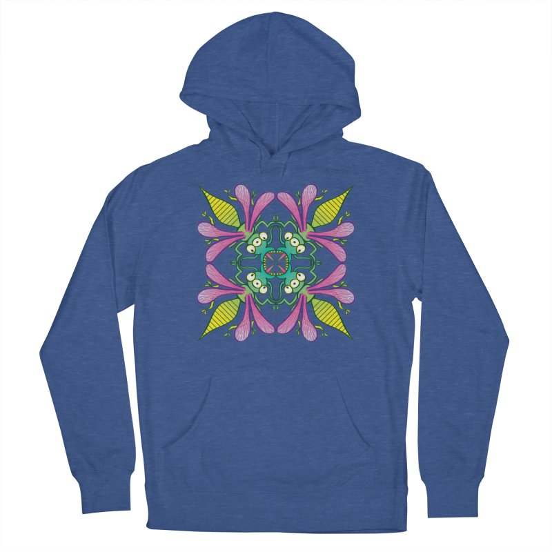 Luminescent insects having a meeting in the middle of the night Women's Pullover Hoody by Zoo&co's Artist Shop