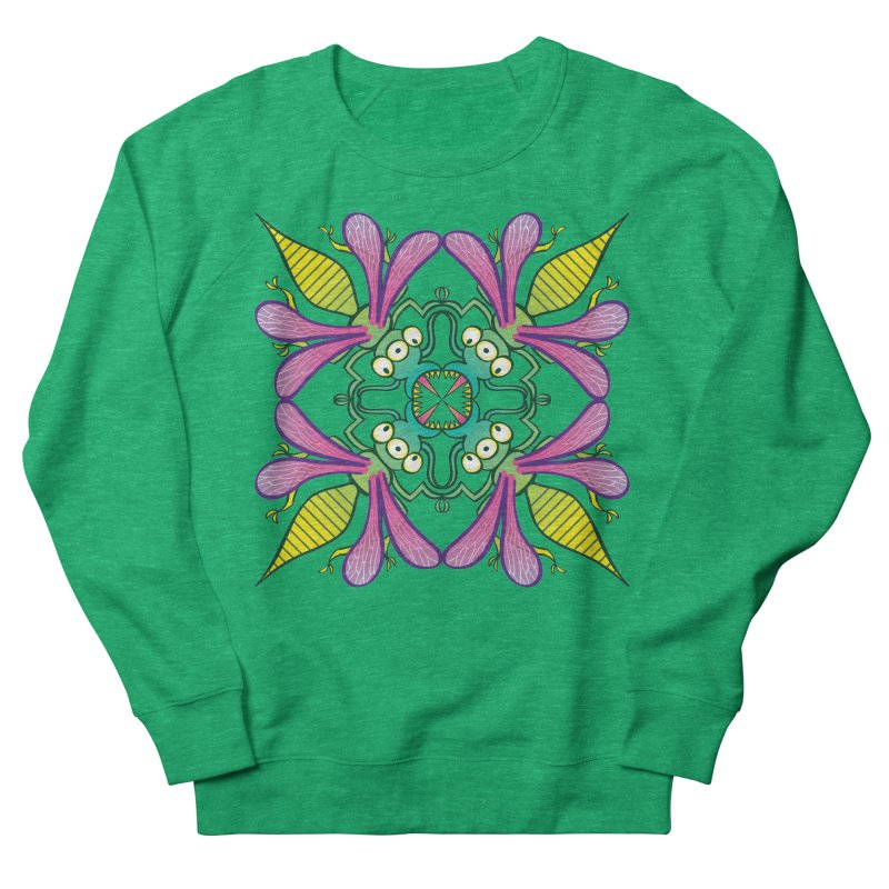 Luminescent insects having a meeting in the middle of the night Women's Sweatshirt by Zoo&co's Artist Shop