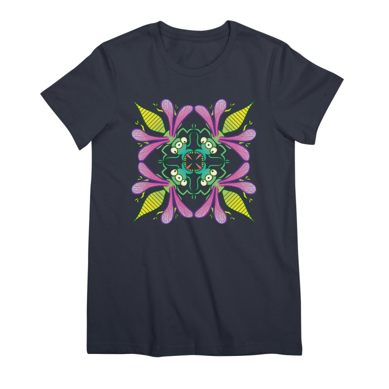 Luminescent insects having a meeting in the middle of the night Women's T-Shirt by Zoo&co's Artist Shop