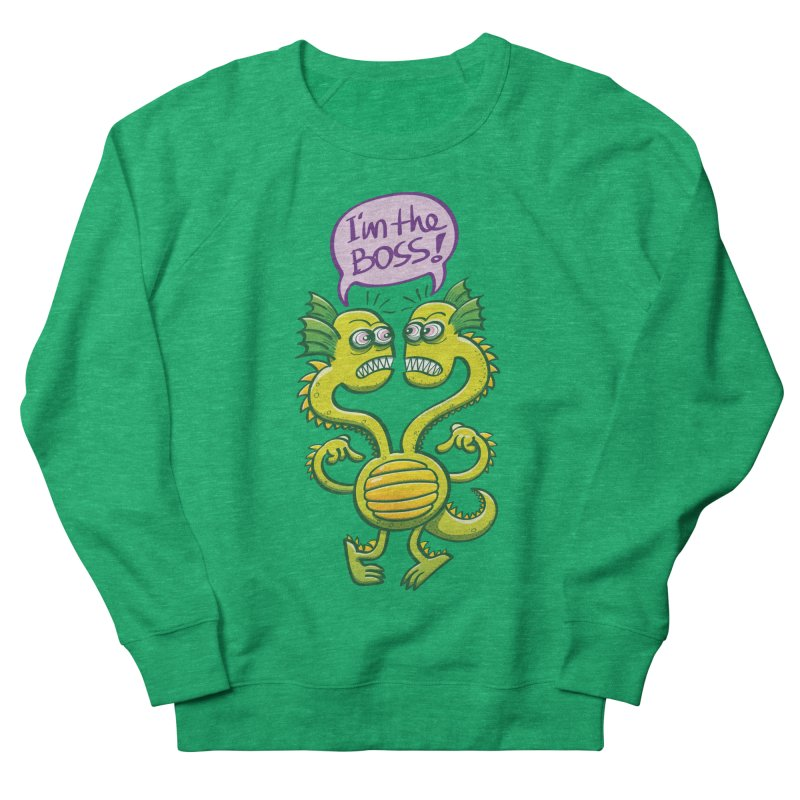 Two-headed monster struggling to define who the boss is Women's Sweatshirt by Zoo&co's Artist Shop