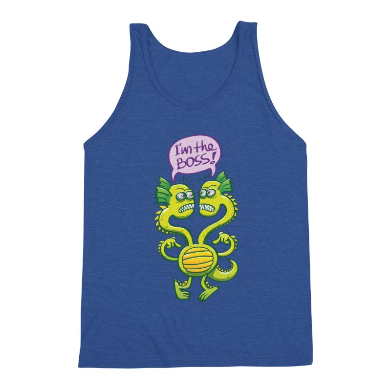Two-headed monster struggling to define who the boss is Men's Tank by Zoo&co's Artist Shop