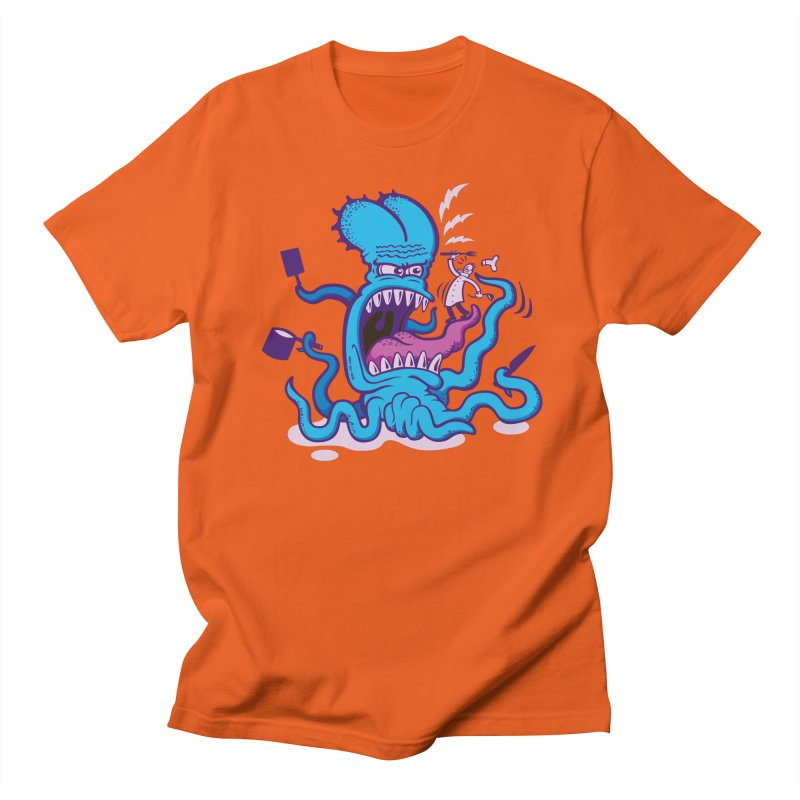 When cooking an octopus does not work well Men's T-Shirt by Zoo&co's Artist Shop