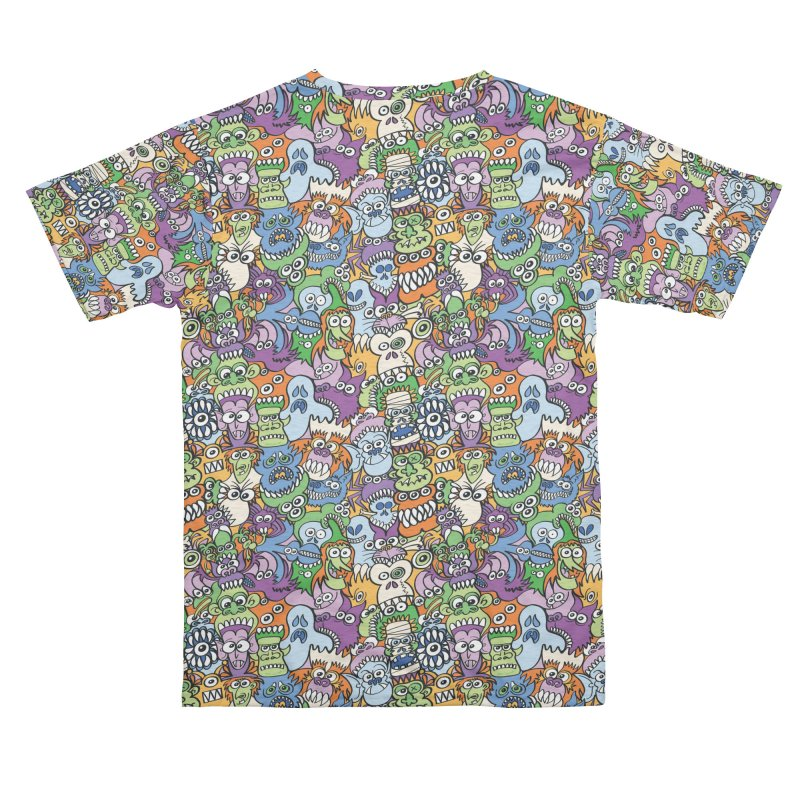 Halloween stars are hungry and this makes them get mad Women's Cut & Sew by Zoo&co's Artist Shop