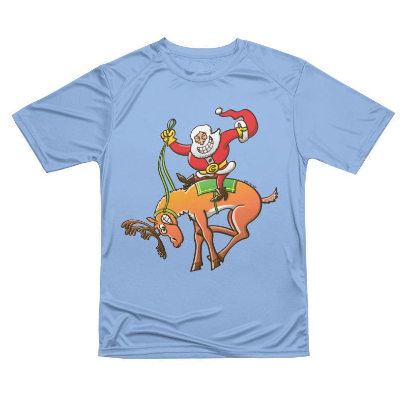 Santa is making this wild reindeer get ready for Christmas Men's T-Shirt by Zoo&co's Artist Shop