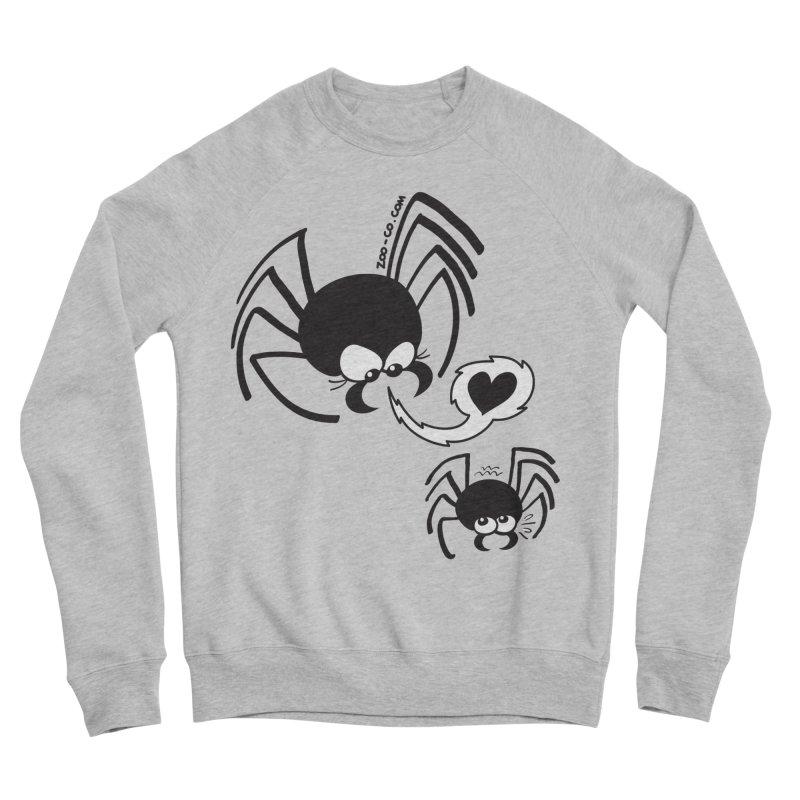 Dangerous love for a male spider Women's Sweatshirt by Zoo&co's Artist Shop