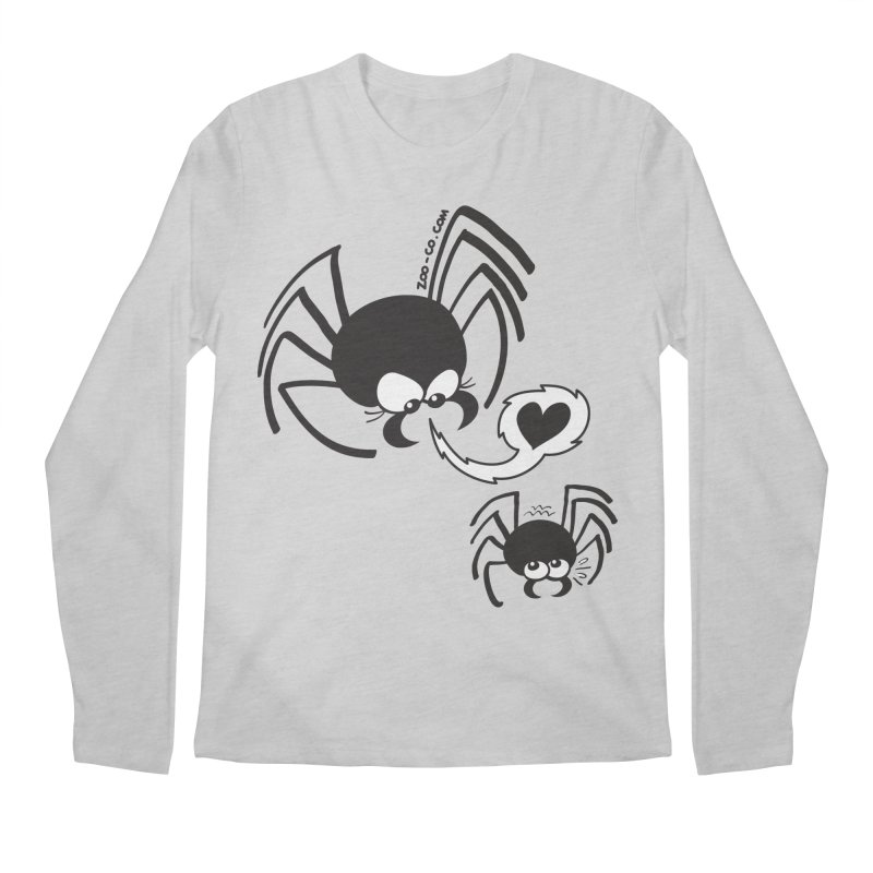 Dangerous love for a male spider Men's Longsleeve T-Shirt by Zoo&co's Artist Shop