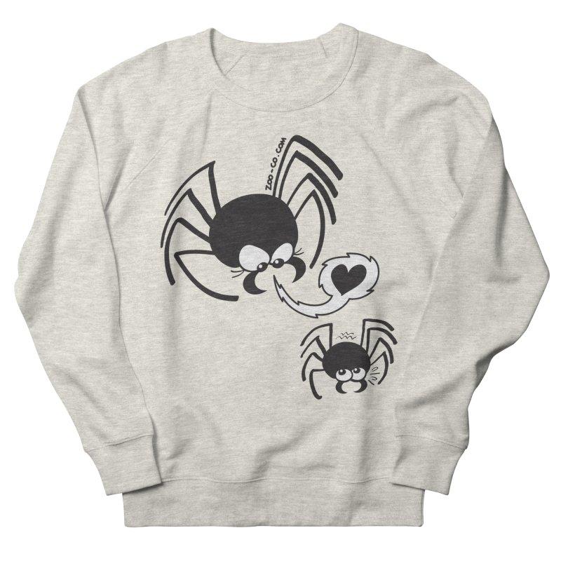Dangerous love for a male spider Men's Sweatshirt by Zoo&co's Artist Shop