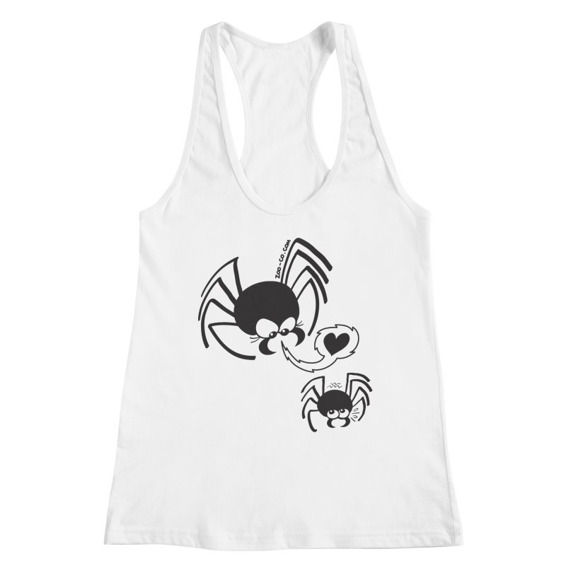 Dangerous love for a male spider Women's Tank by Zoo&co's Artist Shop