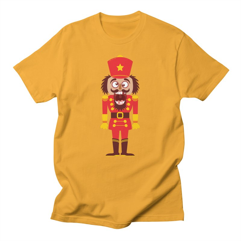 A Christmas nutcracker breaks its teeth and goes nuts Men's T-Shirt by Zoo&co's Artist Shop