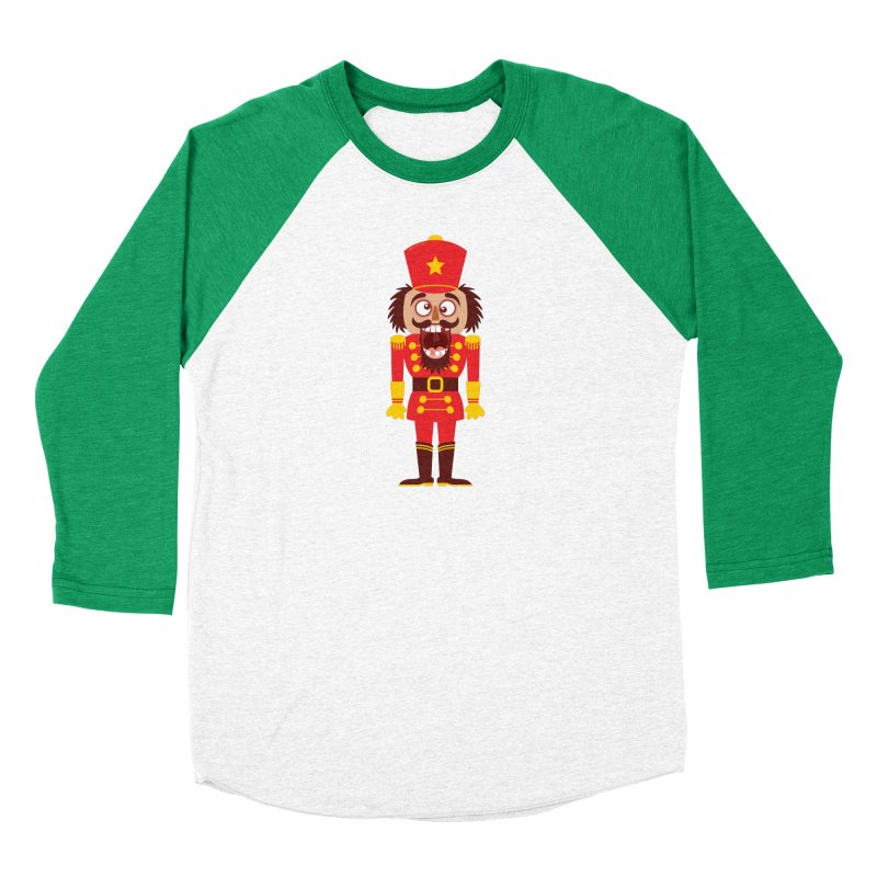 A Christmas nutcracker breaks its teeth and goes nuts Women's Longsleeve T-Shirt by Zoo&co's Artist Shop