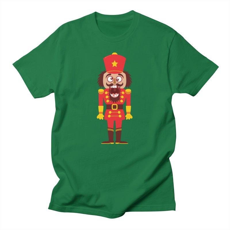 A Christmas nutcracker breaks its teeth and goes nuts Women's T-Shirt by Zoo&co's Artist Shop