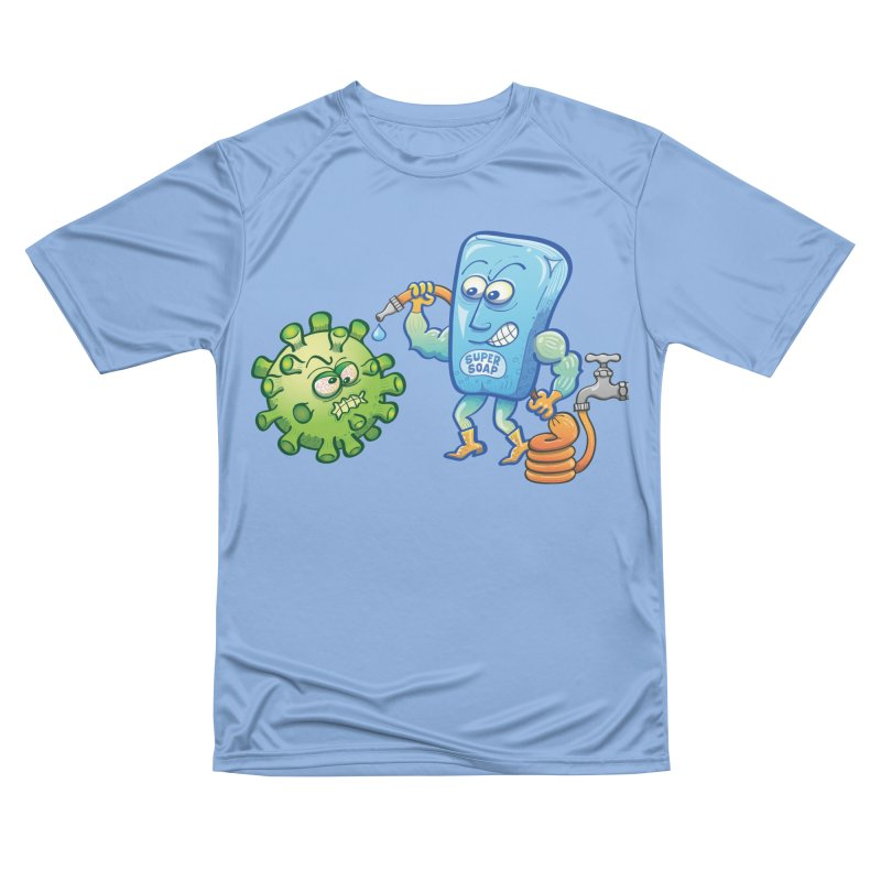 Soap and water are still the best way to fight coronavirus. Wash your hands! Men's T-Shirt by Zoo&co's Artist Shop